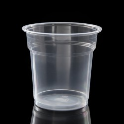 Disposable glass PP short 300ml 50pcs