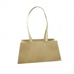 Paper bag with enhanced handle 12pcs