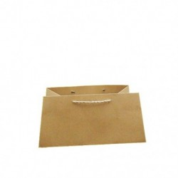 Paper bag with ecological rope 12pcs