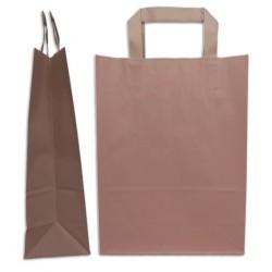 Paper bag flat kraft