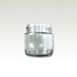 Deep glass jar 106ml with cap