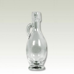 Glass bottle Amphora with cork 40ml
