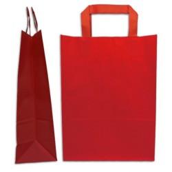 Paper bag flat red