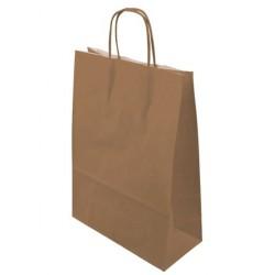 Paper bag twisted kraft