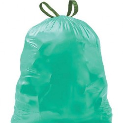 Garbage bags with perfume and drawstring