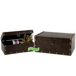 Wine bottles chest