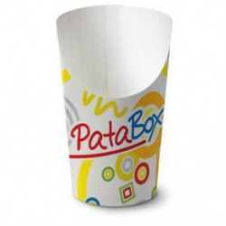 Paper cup for fried potatoes 50pcs