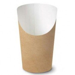 Paper cup for fried potatoes 500cc 48pcs