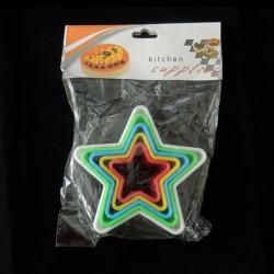 Star shapes 6pcs