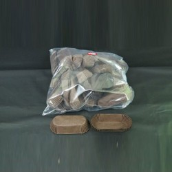 Cupcake Paper Cases rectangular 50pcs