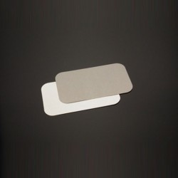 Lid for aluminium trays No 220 R43 100pcs