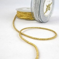 Gold-silver cord 2mm x 20
