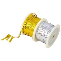 Flat cord with copper wire 4mm x 92m