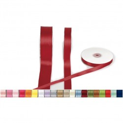 Two-sided satin ribbon 50m